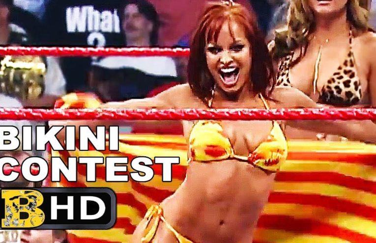 WWE DIWAS Bikini contest